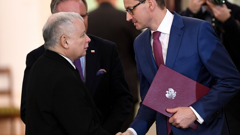 Sondaż dla ''SE'': Kaczyński powinien oddać PiS Morawieckiemu