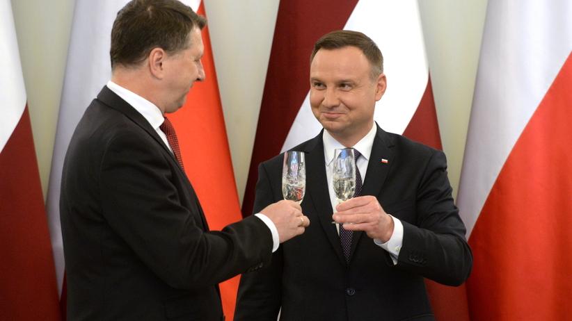 Sondaż Rz: Jakim prezydentem jest Andrzej Duda. W jednej kwestii respondenci są zgodni