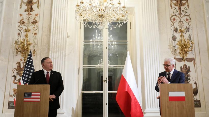 """Spotkanie Czaputowicza i Pompeo. """"Współpracujemy by osiągnąć cel zniesienia wiz do USA"""""""