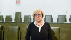 """Gersdorf rozmawiała z Morawieckim. I prezes SN nie ustępuje. """"Z mocy konstytucji - bez warunków"""""""