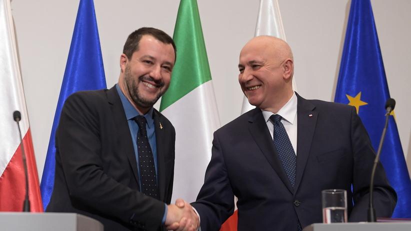 Brudziński: Włochy i Polska mają podobne problemy