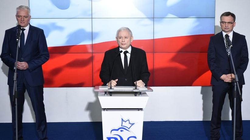 Kaczyński, Ziobro, Gowin i Morawiecki. Wieczorne spotkanie na Nowogrodzkiej