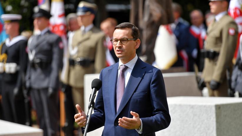 W poniedziałek w Warszawie spotkanie Morawiecki-Timmermans