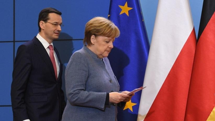 Spotkanie Morawiecki-Merkel. Premier uważa kanclerz za przyjaciela Polski
