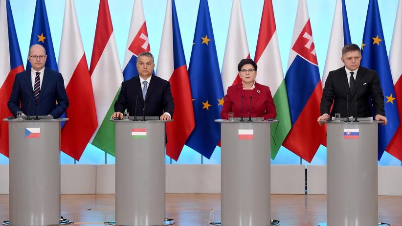 Beata Szydło: Grupa Wyszehradzka ma plan na Europę