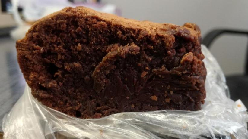 Ciasto z marihuaną, znalezione przez tarnowskich funkcjonariuszy