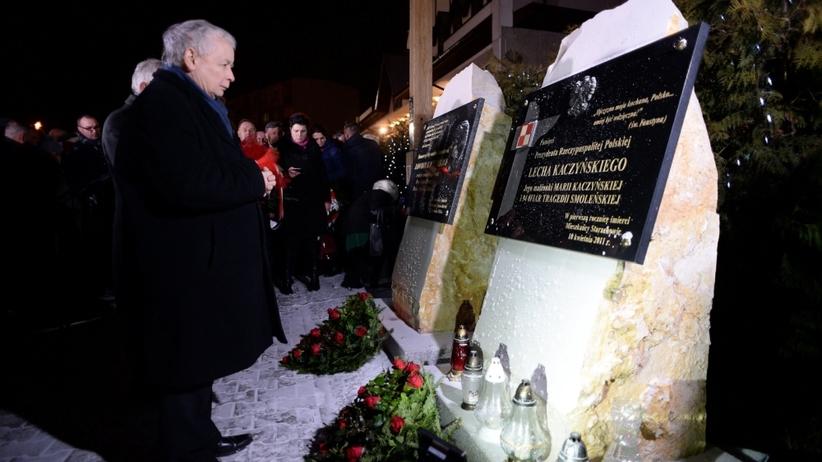 Jarosław Kaczyński uczcił pamięć matki