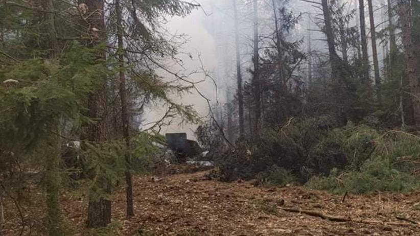 Wojskowy MiG-29 rozbił się w lesie. Pilot został odnaleziony