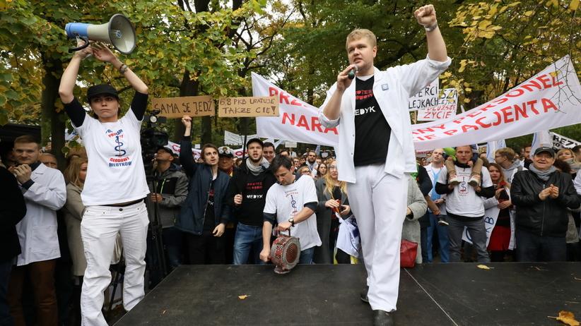 Strajk lekarzy rezydentów. Dziś zapadnie decyzja ws. rozszerzenia protestu