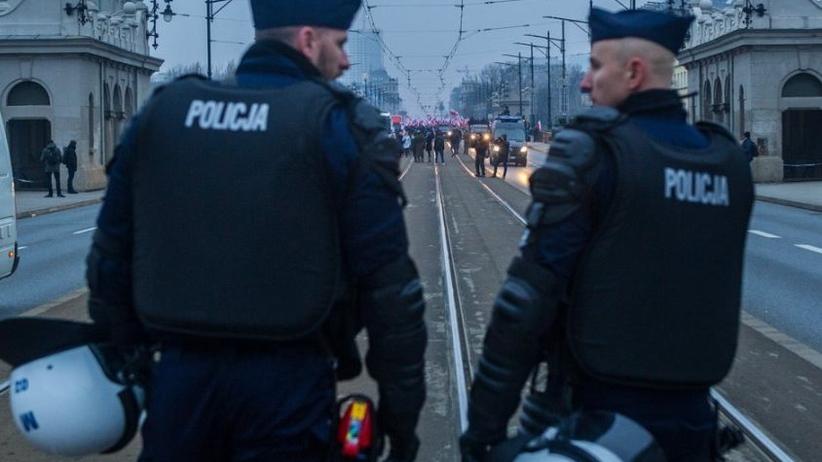 Strajk policjantów. Funkcjonariusze oddali premie za służbę 11 listopada