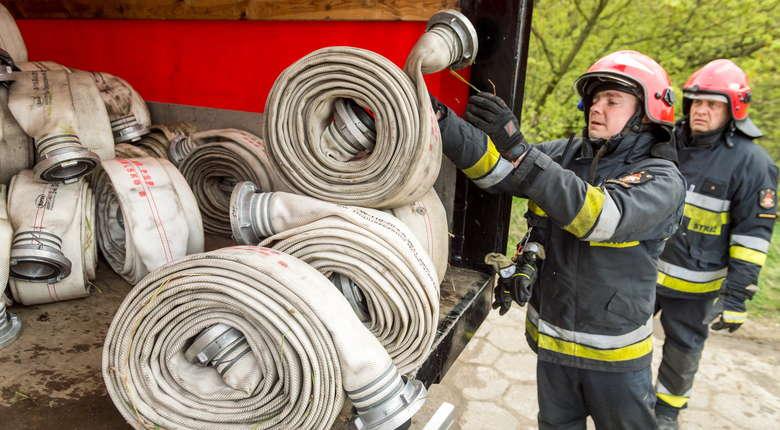 Pracowita noc polskich strażaków. Stabilizacja pogody