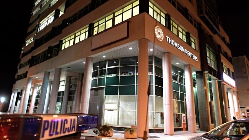 Strzelanina w biurze Thomson Reuters w Gdyni. Zatrzymano Białorusina