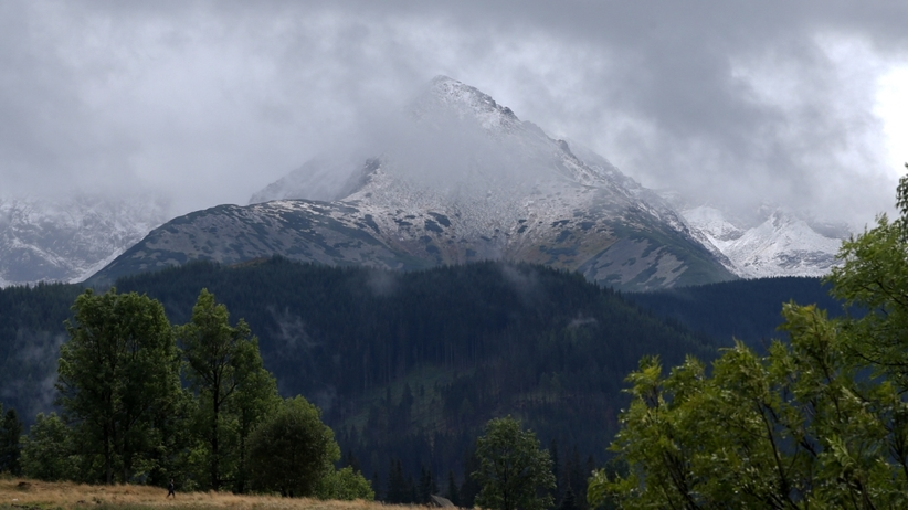 Lawiny w Tatrach
