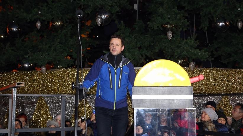 Świąteczna iluminacja w Warszawie [GALERIA]
