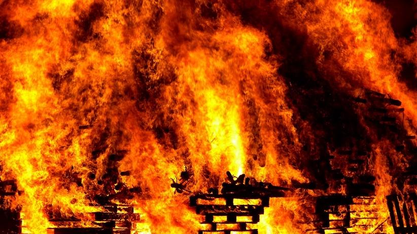 Pożar na Dolnym Śląsku. Spłonął ośrodek przyrodoleczniczy