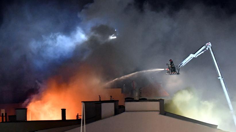 Szczecin. Pożar poddasza kamienicy