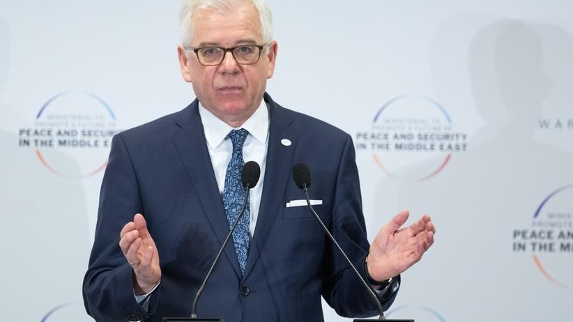 """Szef MSZ zamiast premiera na szczycie w Izraelu. """"Taka decyzja premiera"""" konsekwencją """"fałszywie oskarżających Polskę wypowiedzi"""""""