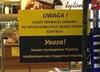 Przesadzili? Sklep umieścił tabliczkę informującą, że każdy Ukrainiec zostanie przeszukany