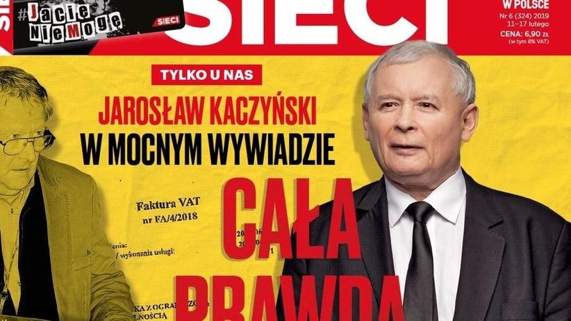 """Jarosław Kaczyński o taśmach """"Gazety Wyborczej"""": to nawet nie jest kapiszon"""