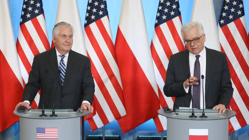 Tillerson w Warszawie: Polska i USA razem są przeciwni Nord Stream 2