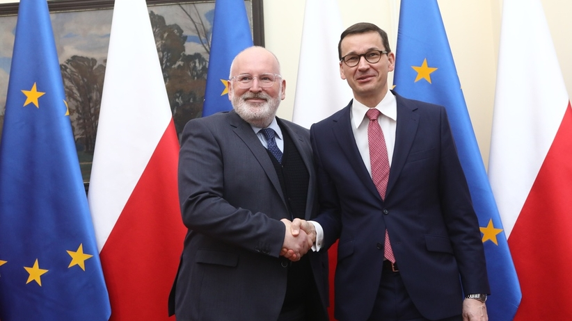 Co z art. 7? Timmermans zabiera głos