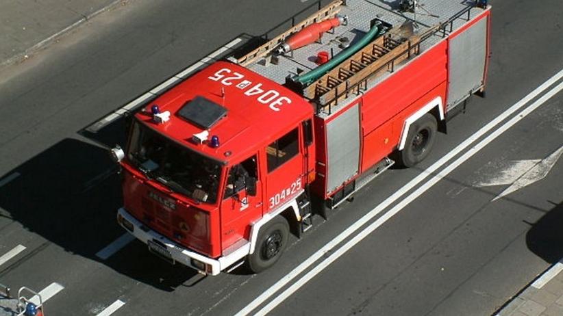 Tragiczny pożar w Bielsku-Białej. Zginął mężczyzna, drugi trafił do szpitala