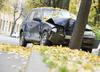 Tragiczny wypadek w Małopolsce. Auto uderzyło w drzewo, dwie osoby nie żyją