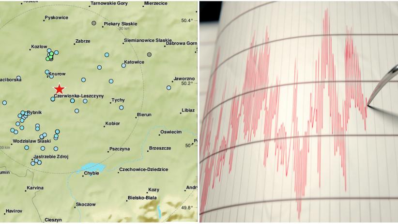 Trzęsienie ziemi na Śląsku. Wstrząsy miały siłę 4 stopni w skali Richtera