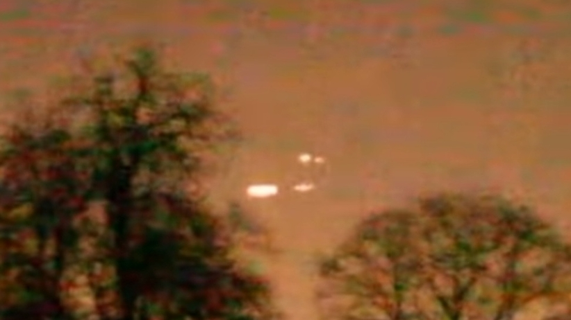 UFO nad Polską? Mieszkańcy północnego Mazowsza obserwują tajemnicze zjawiska [WIDEO]