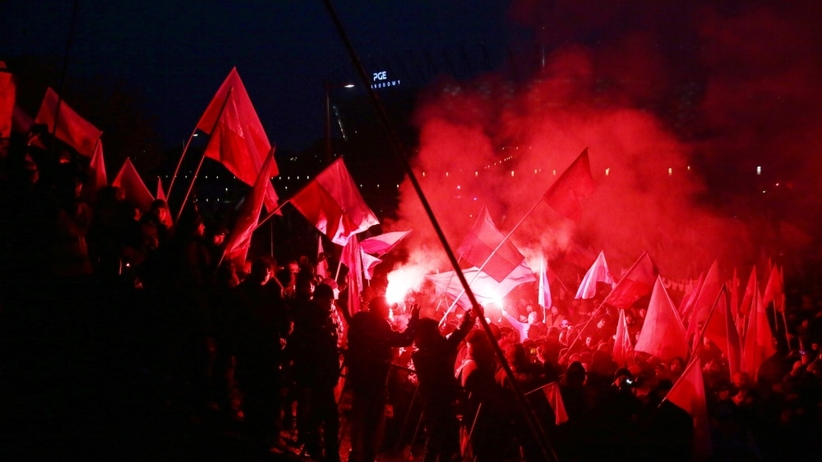 Umorzone śledztwo ws. spalenia flagi w dniu Święta Niepodległości