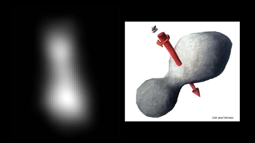 ''Śnieżny bałwan'' na krańcu Układu Słonecznego. Historyczne zdjęcie NASA