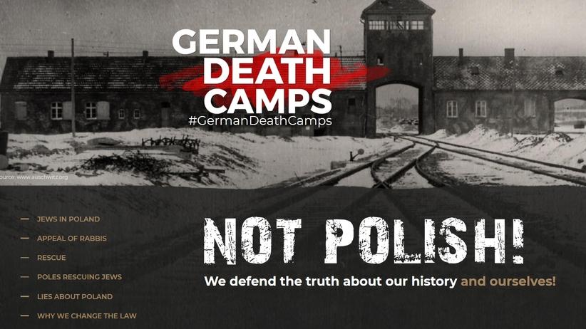 Ustawa o IPN: Ministerstwo założyło stronę o niemieckich obozach śmierci