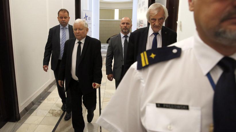 Kaczyński o Tusku i ustawie o IPN