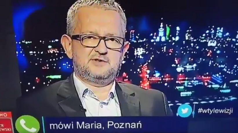"""Pani Maria z Poznania dzwoni do """"W tyle wizji"""". Jej wypowiedź szokuje prowadzących"""