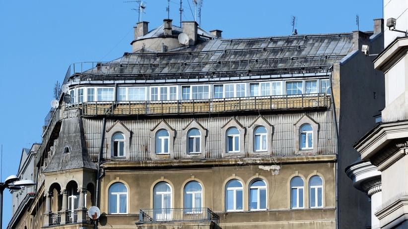 Warszawa, jakiej już nie ma. Pola Negri kręci na dachu