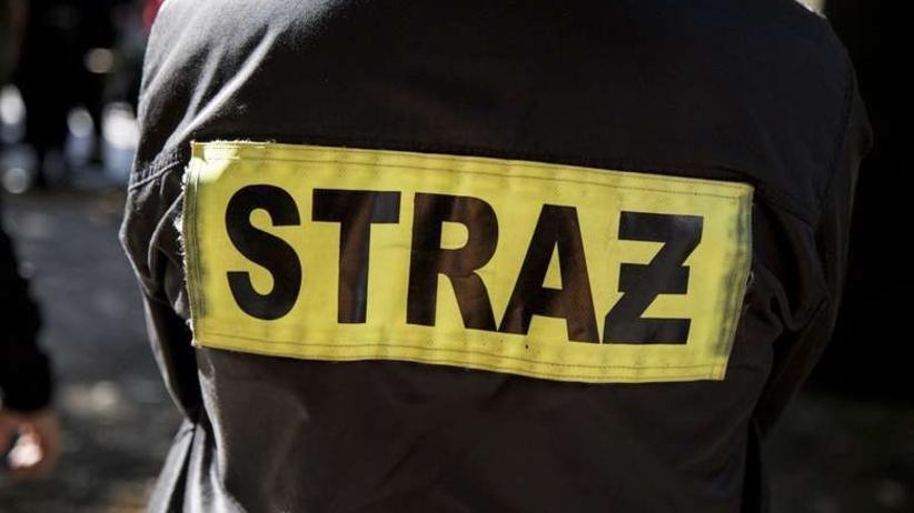 Pożar na warszawskiej Pradze. 11 osób rannych [WIDEO]