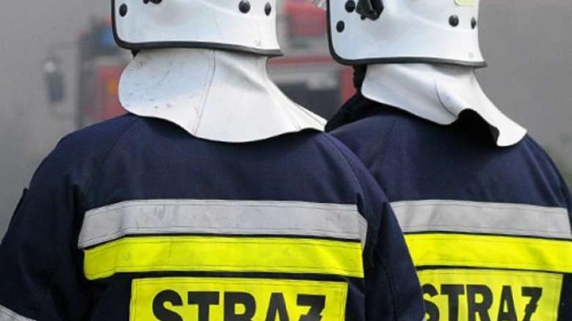Warszawa: pożar składowiska odpadów