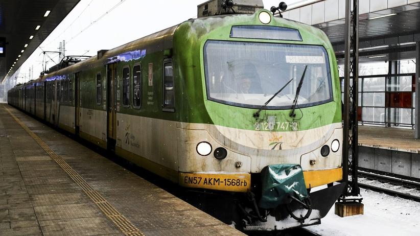 60-latek śmiertelnie potrącony przez pociąg w Warszawie