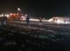 Awaryjne lądowanie na lotnisku Chopina. Nie wysunęło się podwozie