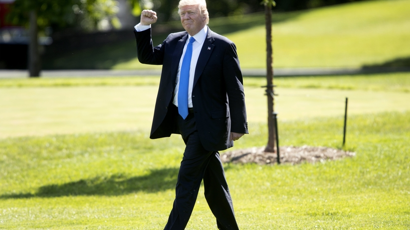 Donald Trump w Polsce. Warszawa stanie się nieprzejezdną twierdzą [MAPA]
