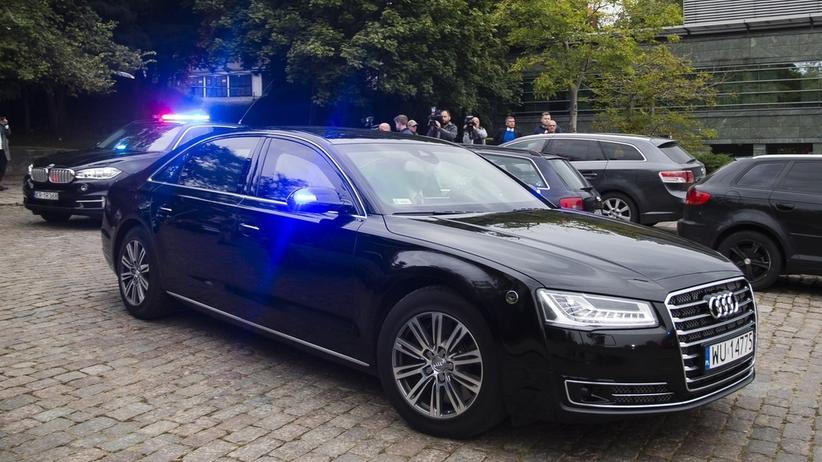 Kolizja rządowej kolumny pod Warszawą. Dwoje dzieci w szpitalu