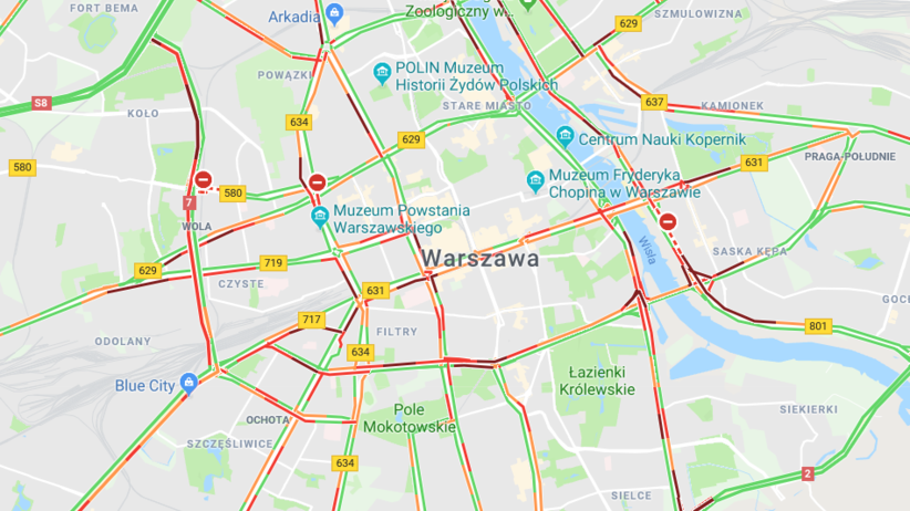 Konferencja bliskowschodnia w Warszawie. Utrudnienia w ruchu i zmiany w komunikacji miejskiej
