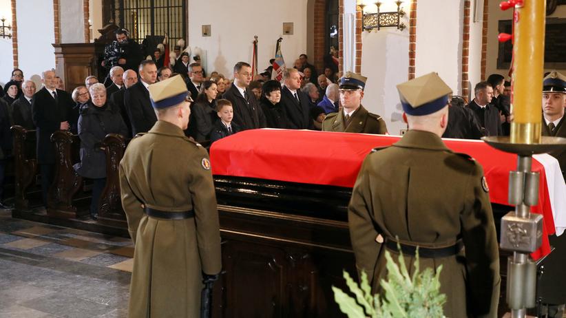 Ostatnie pożegnanie Jana Olszewskiego