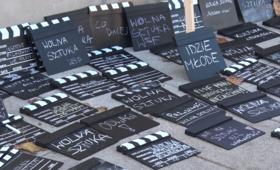 Protest studentów szkół artystycznych przed Ministerstwem Kultury [WIDEO]