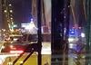 Wypadek na Moście Siekierkowskim. Zginął motocyklista