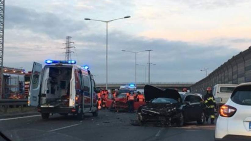 Wypadek na Toruńskiej. Gigantyczny korek w Warszawie