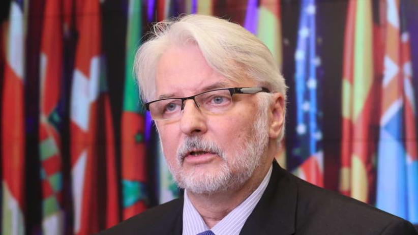 Waszczykowski: barierą dla dialogu z Brukselą jest brak woli po stronie KE