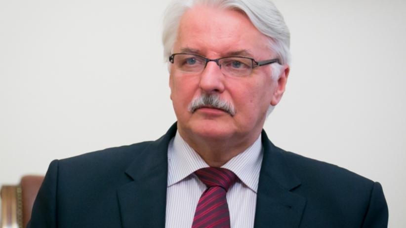 Waszczykowski będzie reprezentował Polskę na szczycie klimatycznym w Paryżu