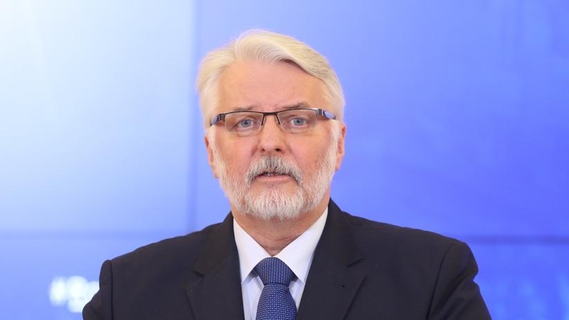 Waszczykowski stanowczo o pomniku w Smoleńsku: Nie odpuścimy. Nic nie jest wieczne, także władza, która nam przeszkadza w wyjaśnieniu katastrofy