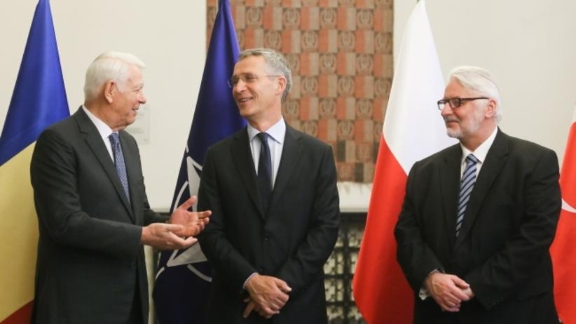 Waszczykowski spotkał się z szefem NATO i ministrami Rumunii oraz Turcji